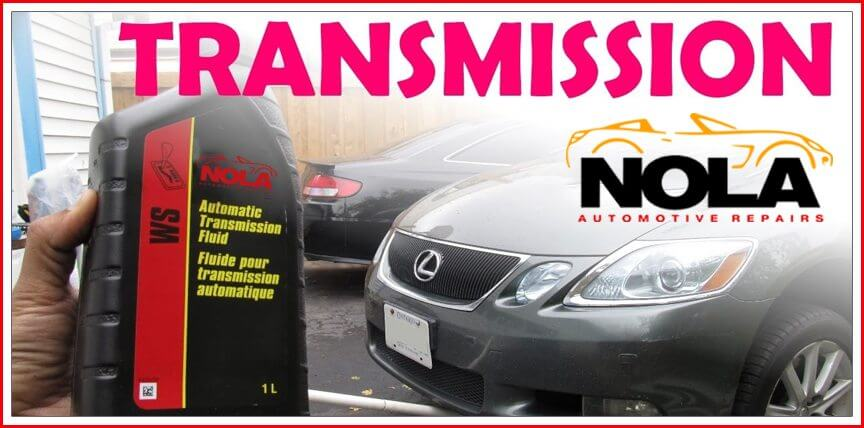 Transmission repair shops in New Orleans - NOLA Automotive Repairs
